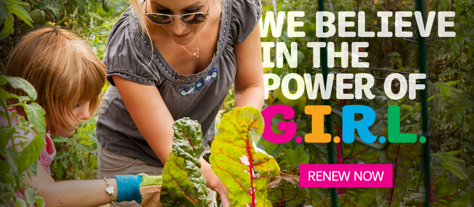 Renew your Girl Scout membership today!