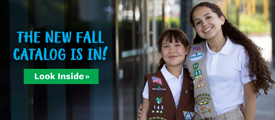 NEW from the Girl Scout Shop! Our Fall 2017 Catalog is here!