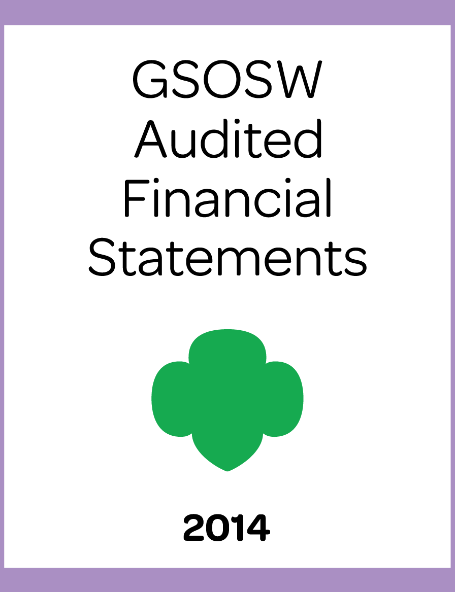 2014 GSOSW Financial Statements