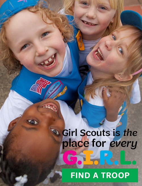 Girl Scouts is the place for every G.I.R.L.!