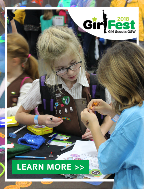 GirlFest 2018 is March 24th! Get your tickets at the door. Learn more >>
