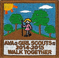 Join the Walk-Together program to earn this patch!