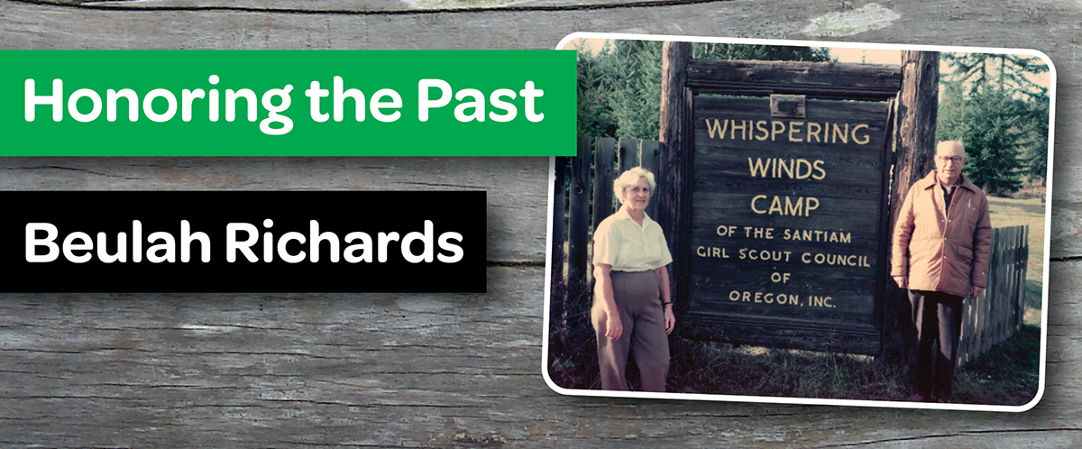 Honoring the Past: Beulah Richards, a pillar for the development of Camp Whispering Winds