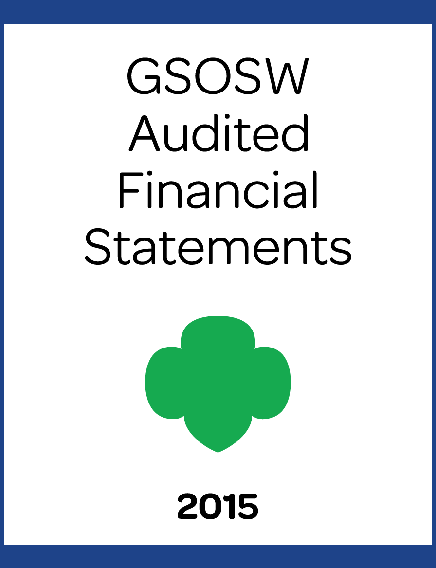 2015 GSOSW Audited Financial Statements